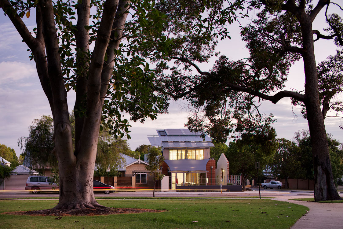 Paul Wellington Architect Hamersley Road House Subiaco Perth WA
